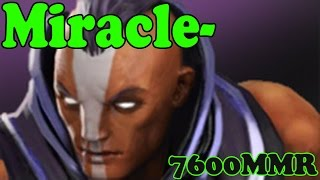 Dota 2 - Miracle- 7600 MMR Plays Anti-Mage vol 3# - Ranked Match Gameplay