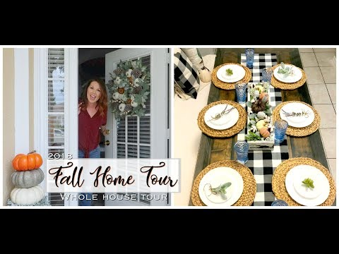 🍂FALL HOME TOUR 2018 🍁// WHOLE HOUSE TOUR // PURPOSEFUL JOY