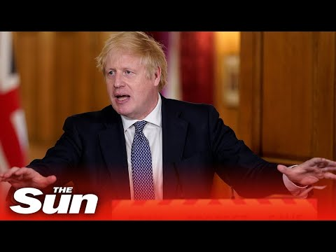 Boris Johnson and government officials give COVID-19 daily briefing