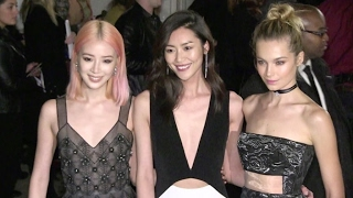 Lais Oliveira, Irene Kim, Hilary Rhoda and more at the amfAR Ball in New York City