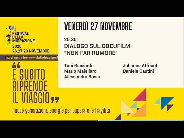 Quarta sessione Festival della Migrazione 2020 // Venerdì 27 novembre