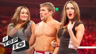 Unexpected kisses: WWE Top 10 thumbnail
