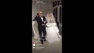 Черкасов на свадьбе Жени Кузина и Саши Артёмовой, прямой эфир 24-11-2017