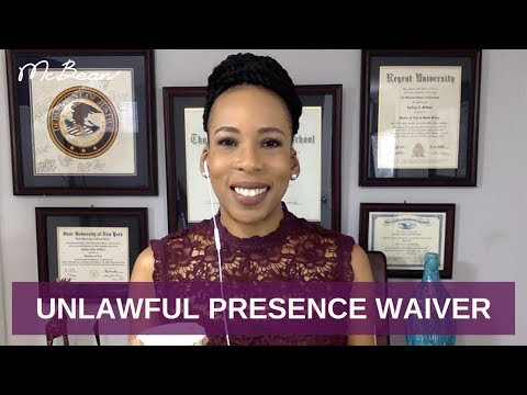 ⏰ UNLAWFUL PRESENCE WAIVER (Part 1) ?? I-601A; USA Immigration Lawyer (2019)