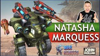 War Robots - Natasha на Marquess MK2!