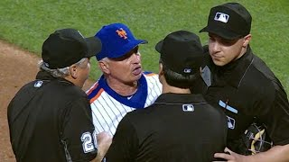 LAD@NYM: Syndergaard ejected after throwing at Utley