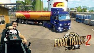 Поездка в Москву на Камазе - Euro Truck Simulator 2 на руле Fanatec ClubSport