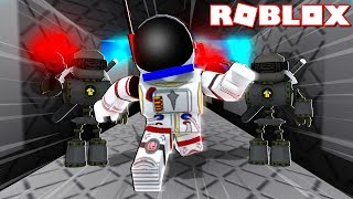 BREAKING INTO A FUTURISTIC FACILITY - ROBLOX THE GRAND CROSSING