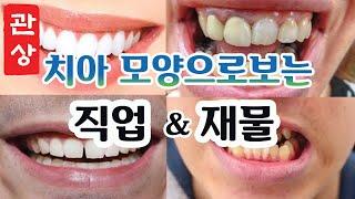 【관상】치아 모양으로 보는 성격과 직업. 재복있는 치아…