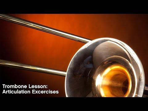 Trombone Lesson: Articulation Exercises