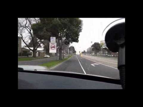 Driving in Melbourne: from CBD to Royal Park