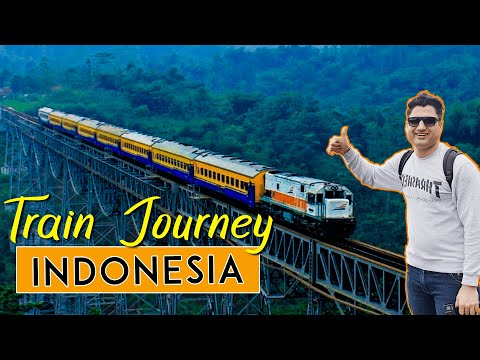 Train Journey In Indonesia | Surabaya To Jogjakarta