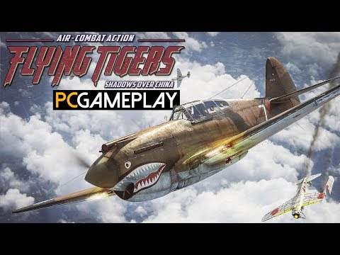 Flying Tigers: Shadows Over China Gameplay (PC HD)