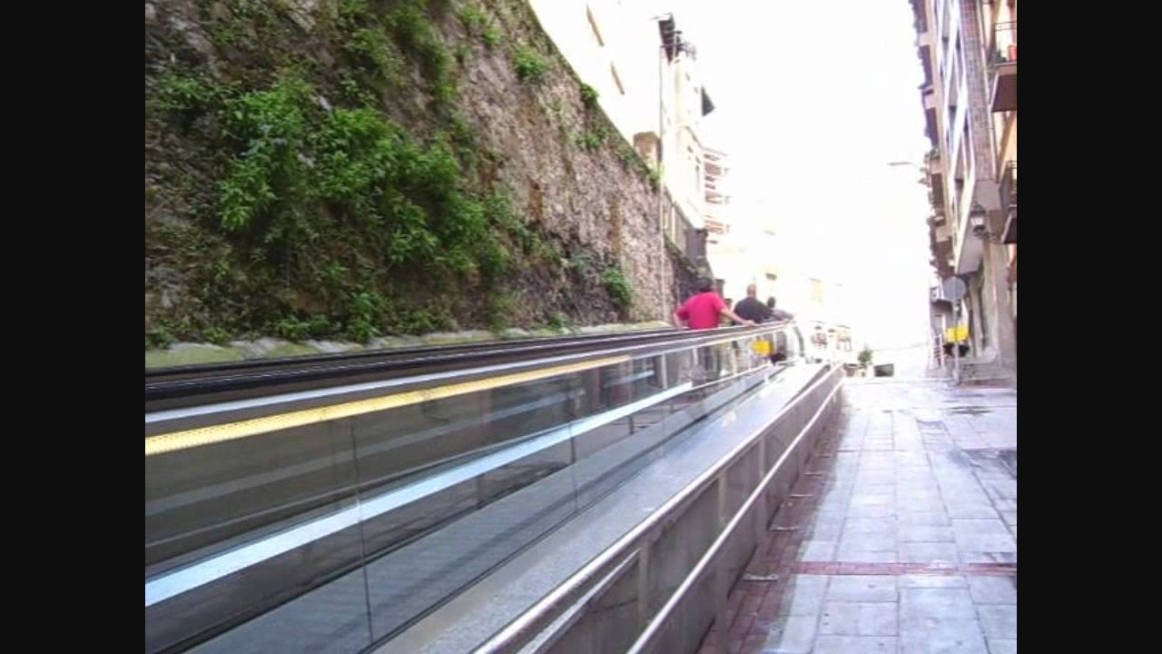 Place Bilbao Escaleras Mec Nicas Calle Uribarri Youtube