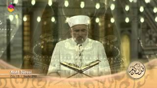 Mukabele Osman Şahin 15.Cüz - TRT DİYANET 2017 Video