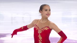 2016 ISU Junior Grand Prix Final - Marseille - Ladies Free - Alina ZAGITOVA RUS