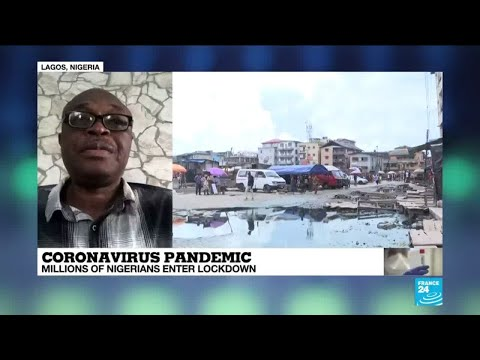 Coronavirus – Covid-19: millions of Nigerians enter lockdown