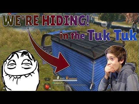 Rules of Survival - TROLLING WITH THE TUK TUK CAR! Supply Drop Camping! 8 Kill Game!