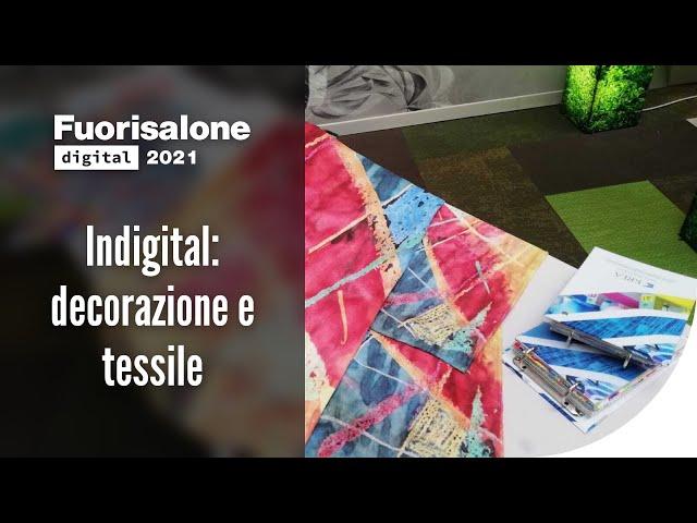 Indigital: decorazione e tessile