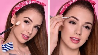 Everyday Makeup Tutorial | One Brand Tutorial | Benefit Cosmetics Greece