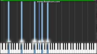 Robbie Williams- Angels (Synthesia)