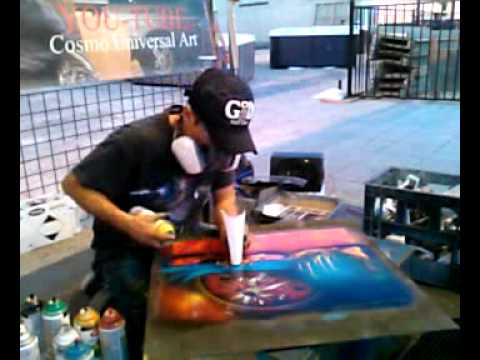 Cosmo Universal Art Live Spray Paint .