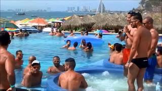 http://www.gaypv.mx Puerto Vallarta gay magazine at Mantamar Beach Pool