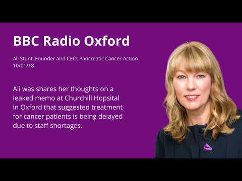 Ali on BBC Radio Oxford - Churchill Hospital