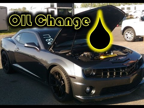 How to change your oil / Camaro SS LS3 Oil Change