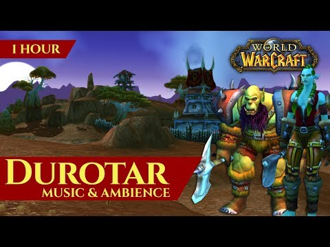 Durotar - Music & Ambience (1 hour, 4K, World of Warcraft Vanilla)