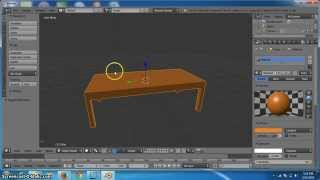 Tutorial Cara Membuat Objek Meja 3D di Blender - Tutorial Blender 3D Pemula Dasar