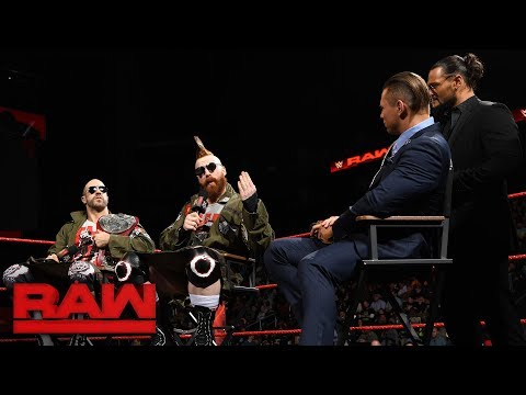The Miz and The Bar claim The Shield are overrated: Raw, Nov. 13, 2017