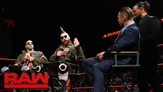 The A-Lister and the new Raw Tag Team Champions roast The Hounds of...