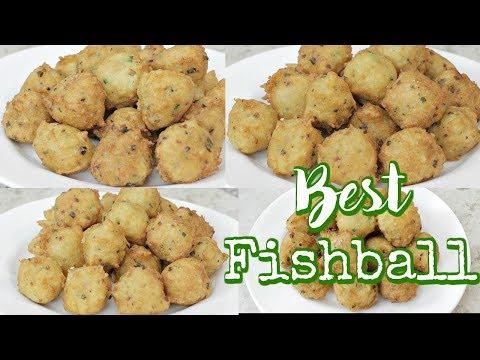 HOMEMADE FISHBALL RECIPE | PAANO MAGLUTO NG FISHBALL | EASY FILIPINO STREET FOOD