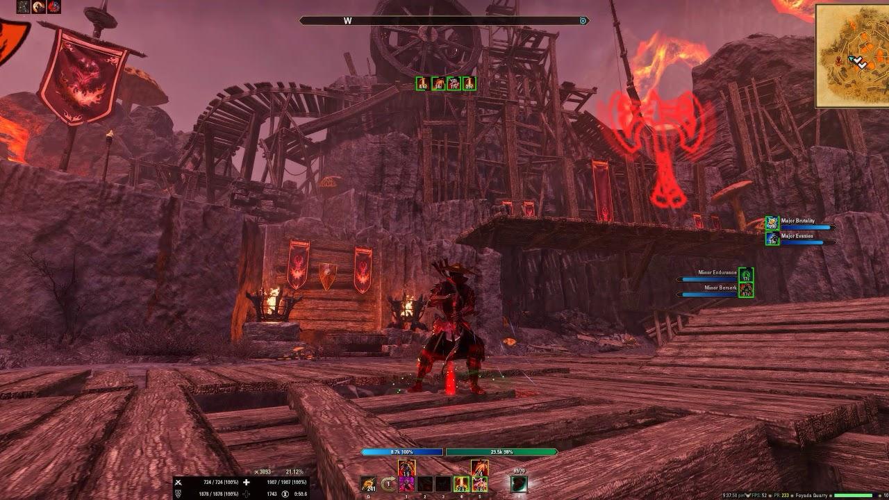 Elder Scrolls Online Summerset: Stamblade Heavy Armor 2h/Bow Battleground