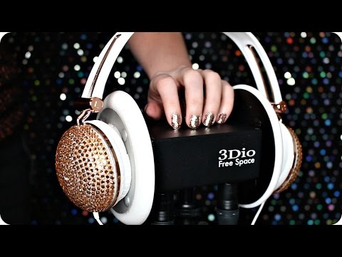 ASMR Mermaid Pillows, Headphones, Ear Peeling, Case Scratching/Tapping, Ear Brushing | 1 Hour 3Dio