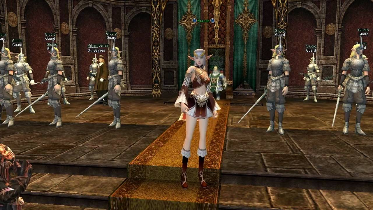 Lineage 2 game video