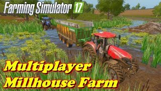 Farming Simulator 17 | Multiplayer - D. Fun4all | Timelapse | Millhouse Farm | Episode 1