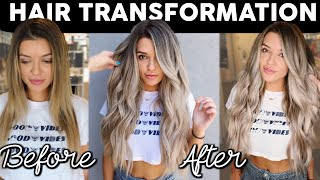 MY HAIR TRANSFORMATION | GIVE ME ADVICE | VLOG
