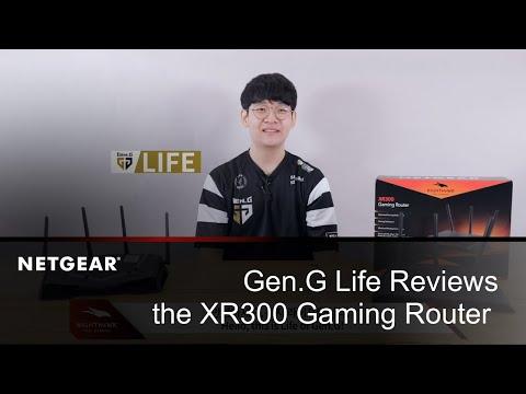 Gen.G Life Reviews the Nighthawk Pro Gaming XR300 WiFi Router | NETGEAR