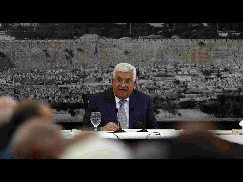 Palestinian President Abbas freezes contact with Israel