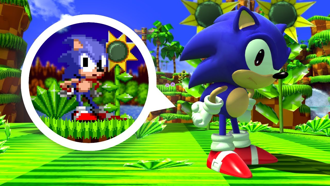 Sonic Generations: More Like Classic Sonic