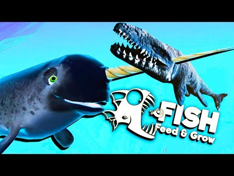 Deadliest Narwhal Ever! - Feed and Grow Fish Gameplay