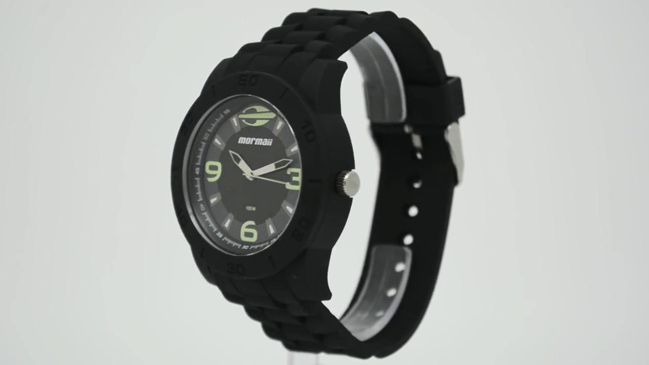 a7b7920525f6c Relógio Mormaii Masculino Acqua Pro MO2036AE 8P - Eclock - YouTube