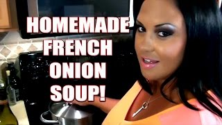 Awesome and Easy to Make French Onion Soup Recipe!