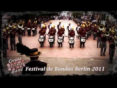 Coruña Marching Band en Festival Berlin 2011