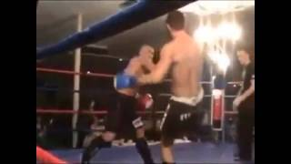 Вот это #удар! ))) #Бесконтакт! ))) What a #kicking! ))) #Ascontact! ))) #Kickboxing (Martial Art)
