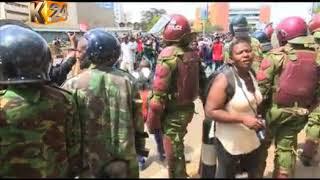 Mtu 1 apigwa risasi Nairobi, kadhaa wagongwa na gari