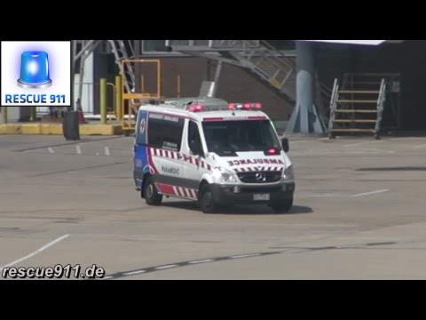 [Melbourne Airport] Pumper + Ambulance