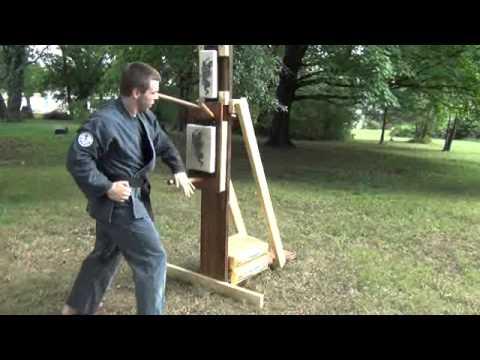 Homemade wooden dummy drills